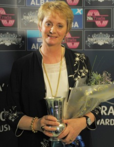 Margaret Stewart at the Trad Awards