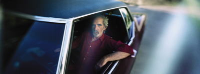 JJ Cale, photo by Stephane Sednaoui