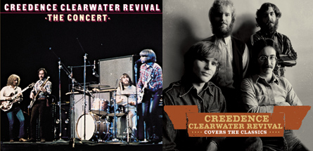 Creedence Clearwater Revival CDs