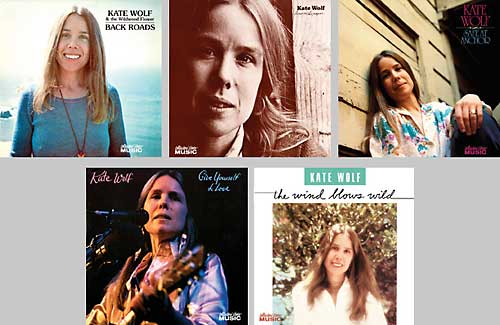 Kate Wolf CDs